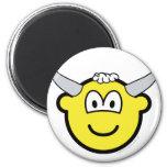 Bull buddy icon   fridge_magents_magnet