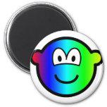 Rainbow buddy icon Colours  fridge_magents_magnet