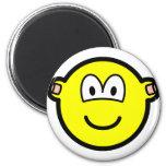 Ear plugs buddy icon   fridge_magents_magnet