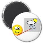 Weatherman emoticon   fridge_magents_magnet