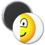 Half emoticon right  fridge_magents_magnet