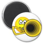 Trombone emoticon   fridge_magents_magnet