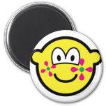 Flower power buddy icon   fridge_magents_magnet