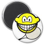 Tennis smile   fridge_magents_magnet
