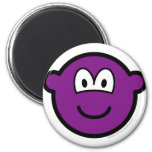 Colored buddy icon violet  fridge_magents_magnet