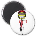 Track cycling smile Olympic sport Cycling fridge_magents_magnet