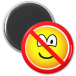 No sad emoticons   fridge_magents_magnet