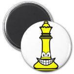 Queen Chess smile  fridge_magents_magnet