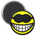 Sleeping mask smile   fridge_magents_magnet
