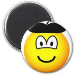 Baret emoticon   fridge_magents_magnet