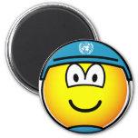 UN soldier emoticon   fridge_magents_magnet
