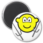 Sai buddy icon martial arts  fridge_magents_magnet