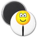 Magnifying glass emoticon   fridge_magents_magnet