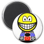Dance dance revolution smile   fridge_magents_magnet