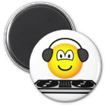 DJ emoticon   fridge_magents_magnet