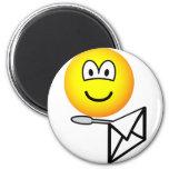 Letter opening emoticon   fridge_magents_magnet