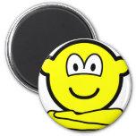 Yoga buddy icon   fridge_magents_magnet