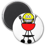 BBQ smile   fridge_magents_magnet