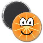 Orange emoticon   fridge_magents_magnet