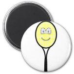 Tennis racket buddy icon   fridge_magents_magnet