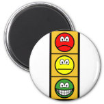 Traffic light smile happy - neutral - sad  fridge_magents_magnet