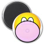 Bubble gum emoticon   fridge_magents_magnet