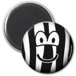 Zebra emoticon   fridge_magents_magnet