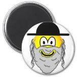 Hassidic emoticon   fridge_magents_magnet