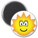 Simpson emoticon Lisa  fridge_magents_magnet
