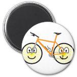 Mountain bike emoticon   fridge_magents_magnet