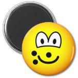 Bowlingball emoticon   fridge_magents_magnet