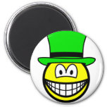 Green hat smile Six Thinking Hats - Creative Lateral Thinking  fridge_magents_magnet