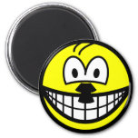 Hitler smile   fridge_magents_magnet