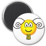 Aries emoticon Zodiac sign  fridge_magents_magnet