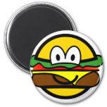 Hamburger emoticon   fridge_magents_magnet