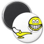 Genie smile   fridge_magents_magnet