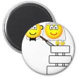 Wedding cake emoticon Cutting  fridge_magents_magnet