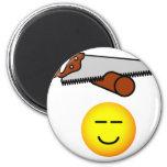 Snoring emoticon   fridge_magents_magnet