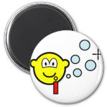 Bubble blowing buddy icon   fridge_magents_magnet