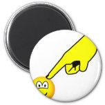 Poked emoticon   fridge_magents_magnet
