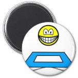 Trampoline smile Olympic sport Artistic gymnastics fridge_magents_magnet