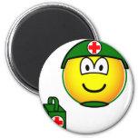 M*A*S*H emoticon medic  fridge_magents_magnet