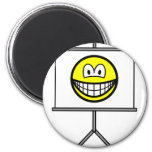 Projected smile   fridge_magents_magnet