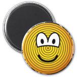 Jaarringen emoticon   fridge_magents_magnet