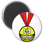 Medal smile   fridge_magents_magnet