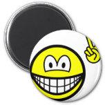 Peace hand smile   fridge_magents_magnet