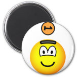 Piggy bank emoticon   fridge_magents_magnet