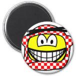 Jordan head cap smile   fridge_magents_magnet