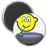Water fountain buddy icon drinking  fridge_magents_magnet
