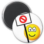 Demonstrator emoticon   fridge_magents_magnet